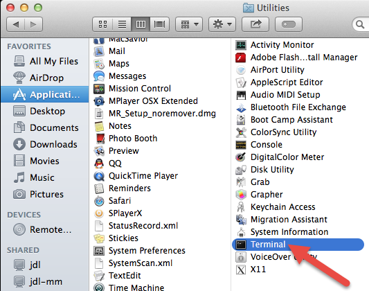 how to delete single items from trash on mac
