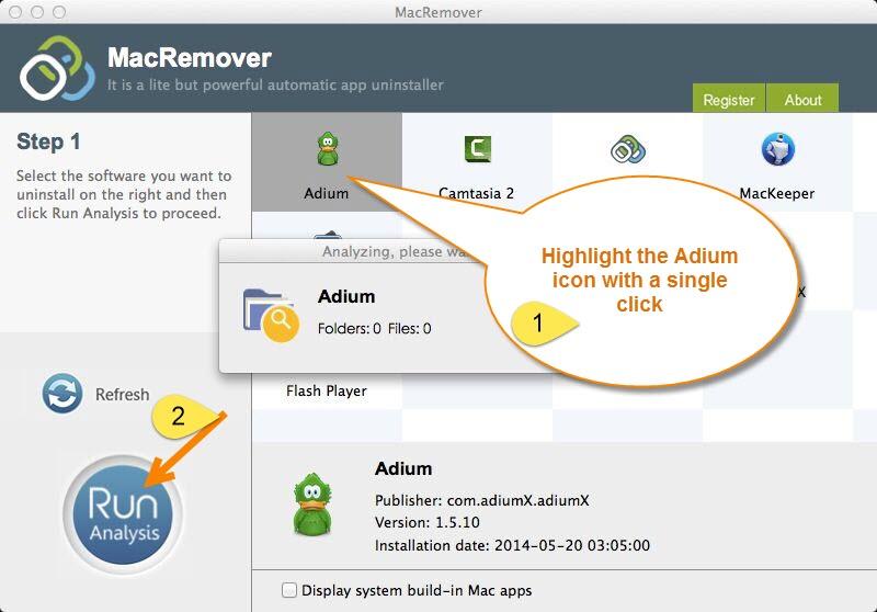 remove Adium