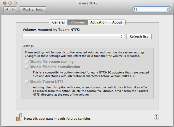 Tuxera NTFS on Mac