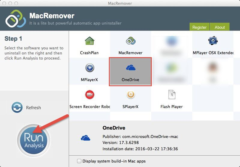 How to remove OneDrive in Mac OS X