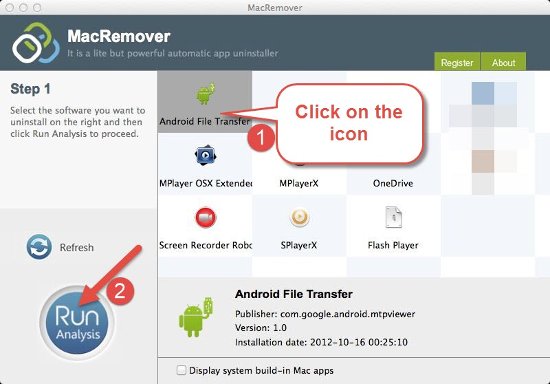 uninstall Android File Transfer 1.0