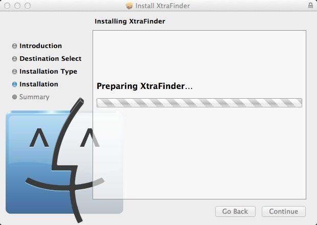 remove XtraFinder 0.25.8