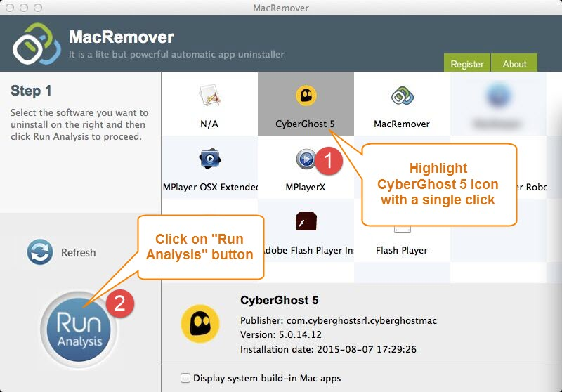 uninstall CyberGhost 5.014.12