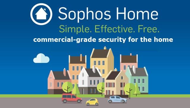 remove Sophos Home