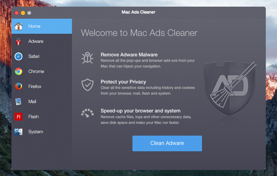 remove Mac Ads Cleaner